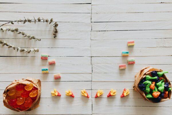 Plant based title seeks vegan Halloween candies